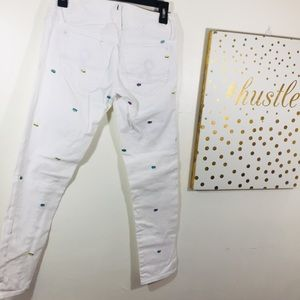 Lilly Pulitzer Jeans - Lilly Pulitzer White Denim Fish Jeans